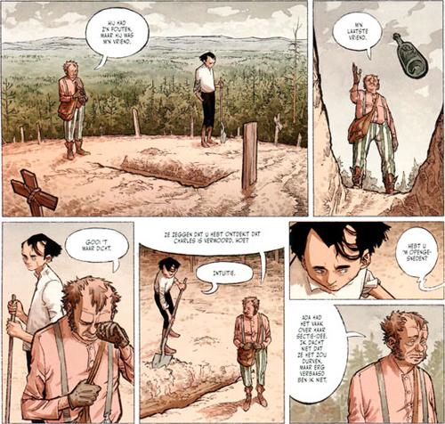 De doodbidder, de zwerver en de moordenaar | Stern | Striparchief