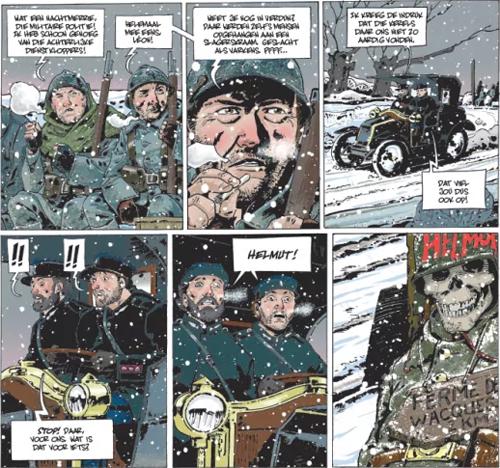 1917-1918 | Kindsoldaat | Striparchief