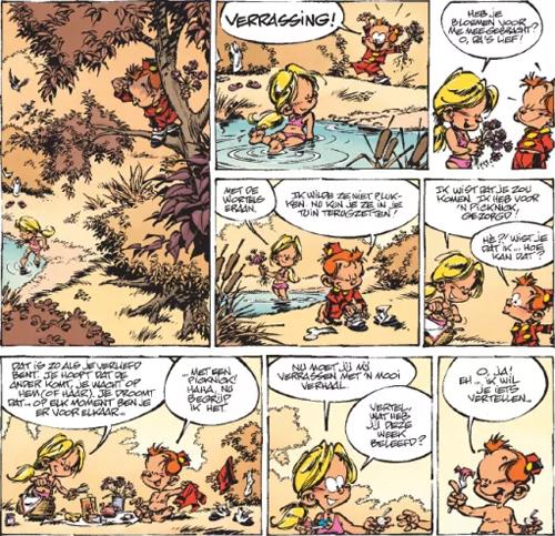 De waarheid over alles! | De kleine Robbe | Striparchief