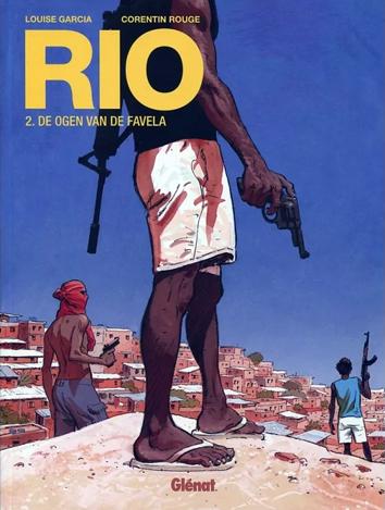 De ogen van de favela | Rio | Striparchief