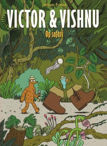 Op safari | Victor & Vishnu | Striparchief