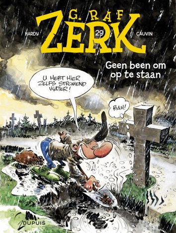 Geen been om op te staan | G. Raf Zerk | Striparchief