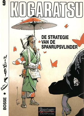 De strategie van de spanrupsvlinder   Kogaratsu   Striparchief